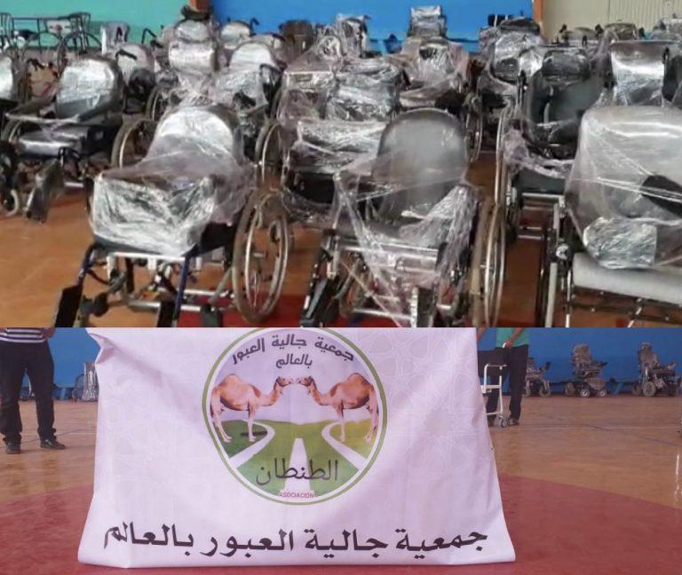جمعية جالية العبور تخلق الحدث بمدشر الطانطان