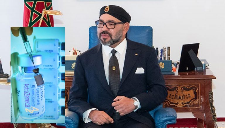 الملك محمد السادس  يعطي تعليماته لارسال مساعدات انسانية الى فلسطين