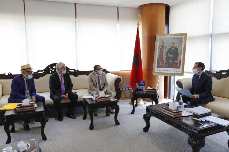 العثماني يستقبل ممثلي الهيئات المهنية المتضررة من التدابير الإحترازية للجائحة