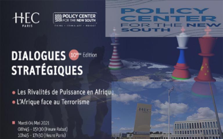 """حوارات إستراتيجية عنوانها """"المنافسات على القوة في أفريقيا"""" و""""أفريقيا في مواجهة الإرهاب"""""""
