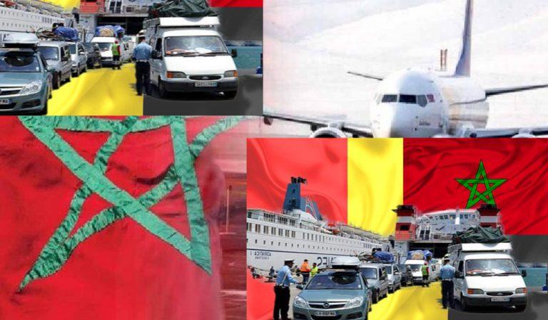 الملك محمد السادس يدخل على خط اسعار تذاكر عودة الجالية المغربية بالخارج
