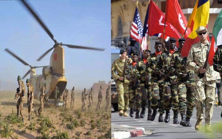 المغرب يشهد اليوم تحركات عسكرية لآلاف من الجيوش بالصحراء المغربية