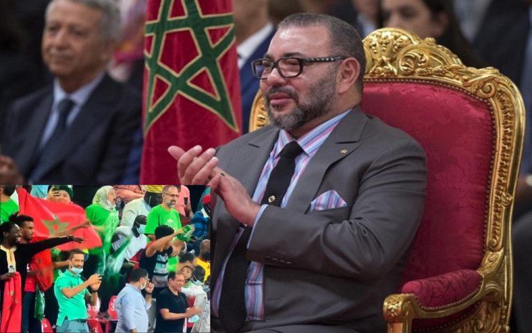 الملك محمد السادس يهنئ فريق الرجاء البيضاوي بعد تتويجه بلقب الكونفيدرالية الأفريقية