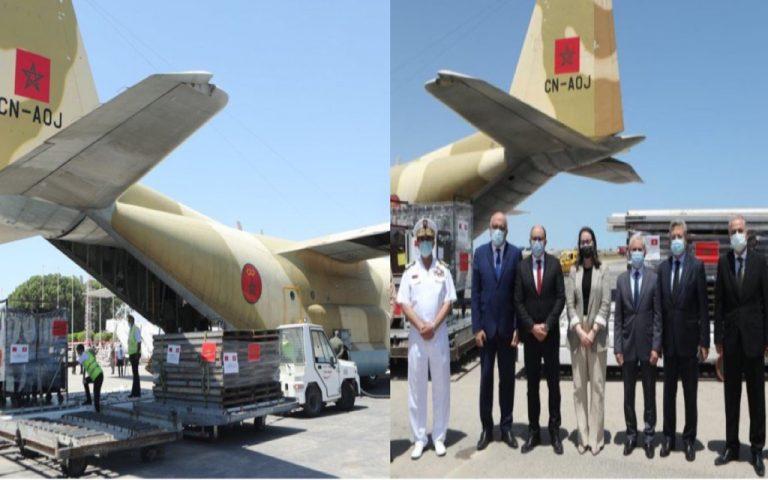ثلاث طائرات عسكرية مغربية تتجه نحو تونس بأمر من جلالة الملك محمد السادس