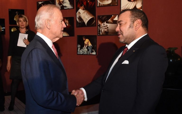 الملك محمد السادس يرسل برقية تعزية للرئيس الأمريكي