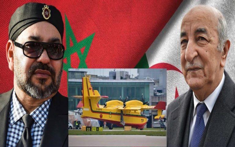 بتعليمات ملكية المغرب يجهز طائرتين كنادير من أجل الجزائر