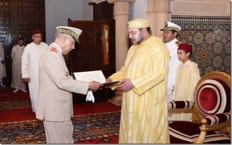 الملك محمد السادس  يعين مفتشًا عامًا جديدًا للقوات المسلحة الملكية