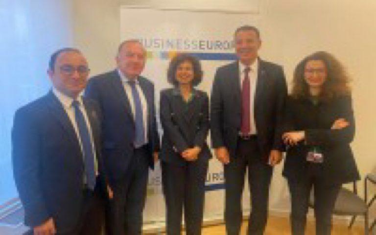 دعوة مشتركة لاتحاد العام لمقاولات المغرب و منظمة أرباب الأعمال الأوروبية من بروكسيل