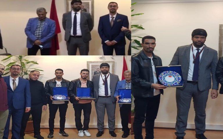 انجاز مغربي بإسطنبول  و القنصل العام للمغرب بتركيا يقوم بمبادرة حسنة