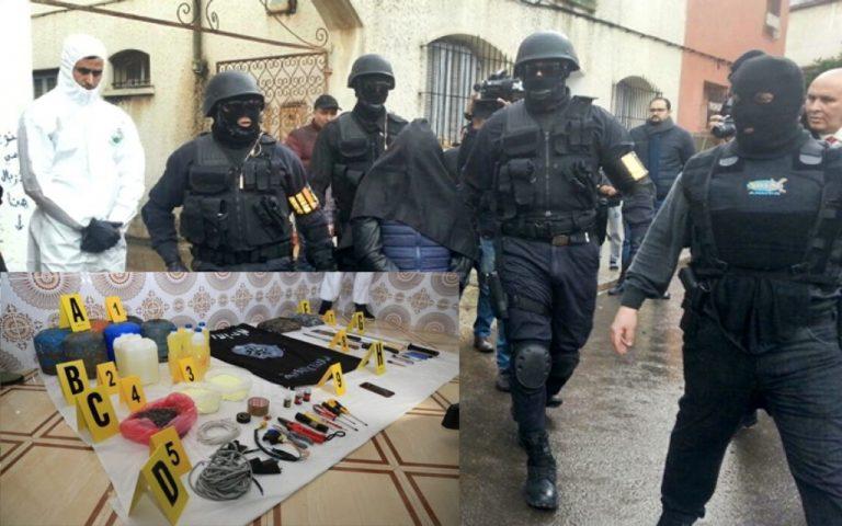 خطير : حجز مجموعة من المعدات والمواد لإعداد أجسام متفجرة بمدينة طنجة
