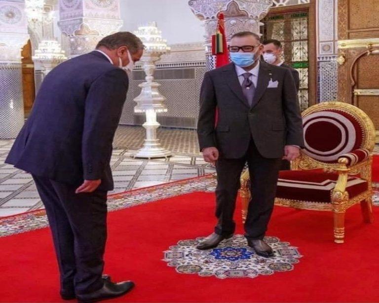جلالة الملك يترأس مراسم تعيين أعضاء الحكومة الجديدة(رسميا)